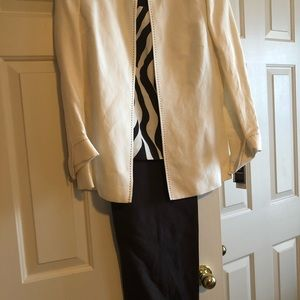 Kasper three piece suit